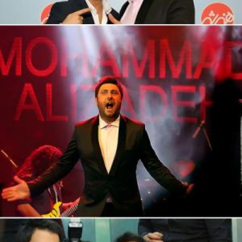 «محمد علیزاده» عاشقانه هایش را در شب آرزوها اجرا کرد