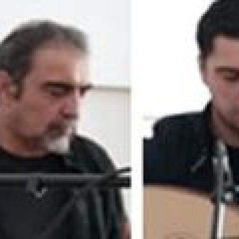 مسعود شعاری و پژمان حدادی با یکدیگر نواختند