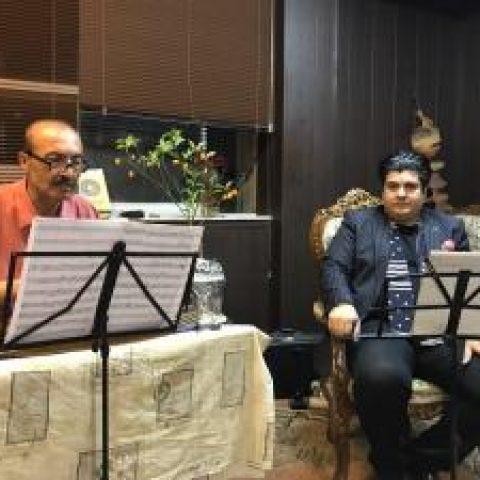 سالار عقیلی و محمدجلیل عندلیبی «میهن» را روی صحنه میبرند