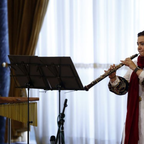 اجرای تکنوازهای جوان در فستیوال موسیقی معاصر تهران