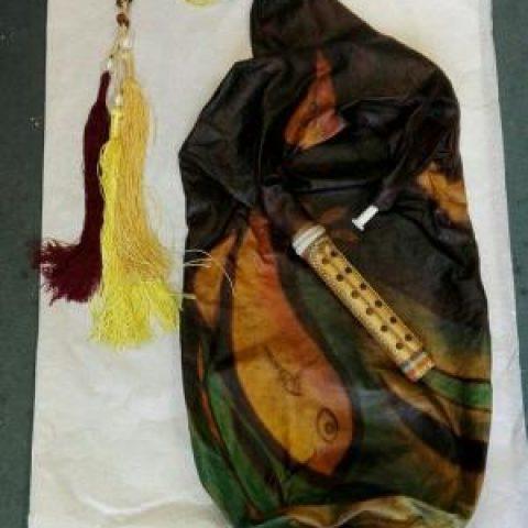 نی انبان اهدایی محسن شریفیان در موزه بروکسل رونمایی شد