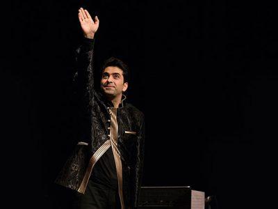«محمد معتمدی» خوانندهی جوان و سرشناس موسیقی ایران